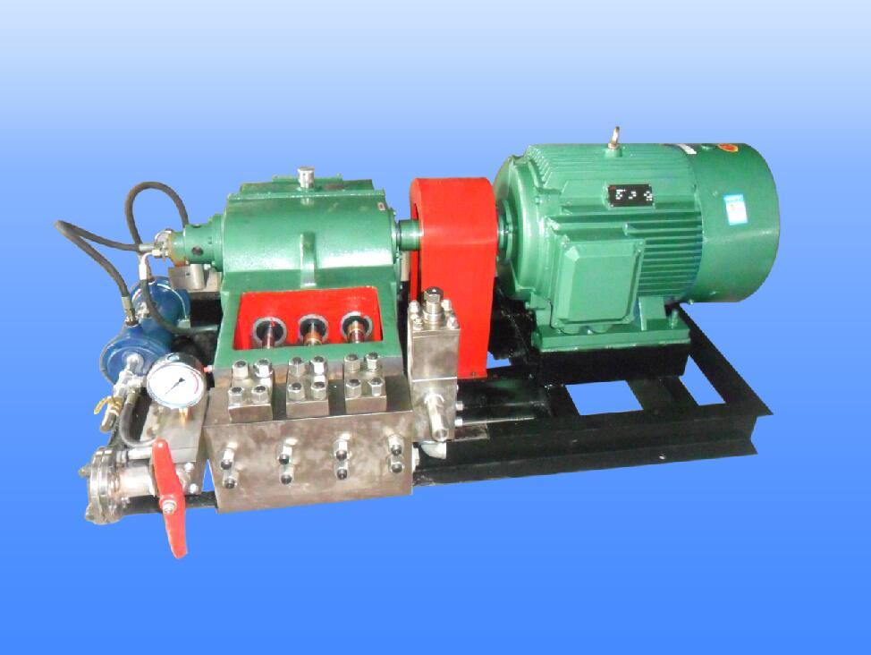 高压往复泵的特点与构造